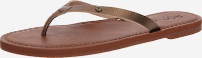 Flip-flops 'JANEL J SNDL' ROXY pe bronz, Vizualizare produs
