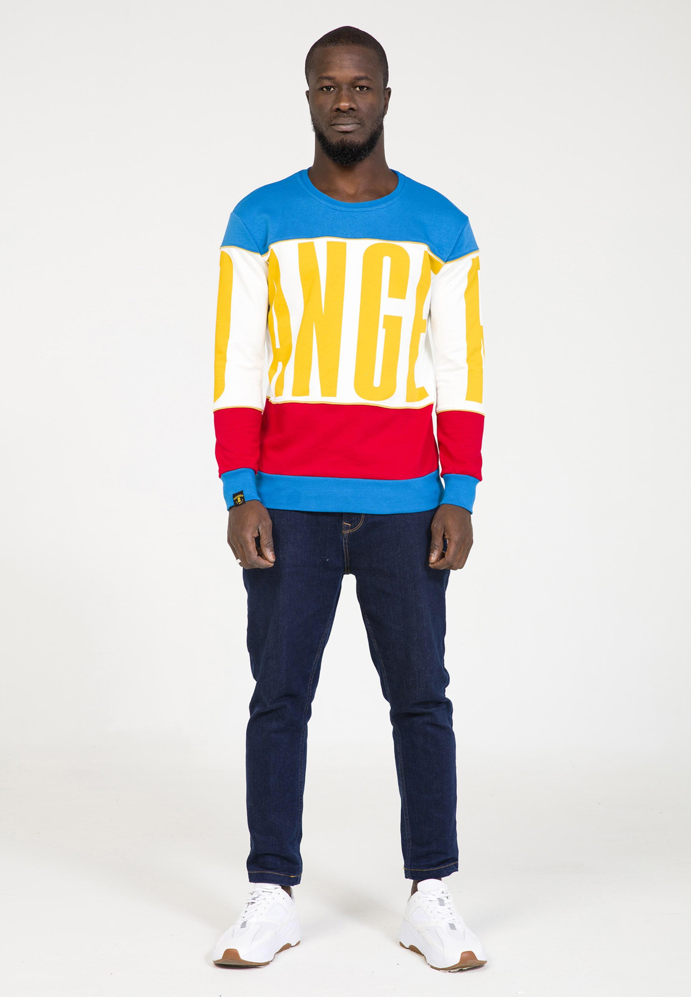 In Plus Sweatshirt In Plus Sweatshirt BlauMischfarben Eighteen Eighteen CexdBro
