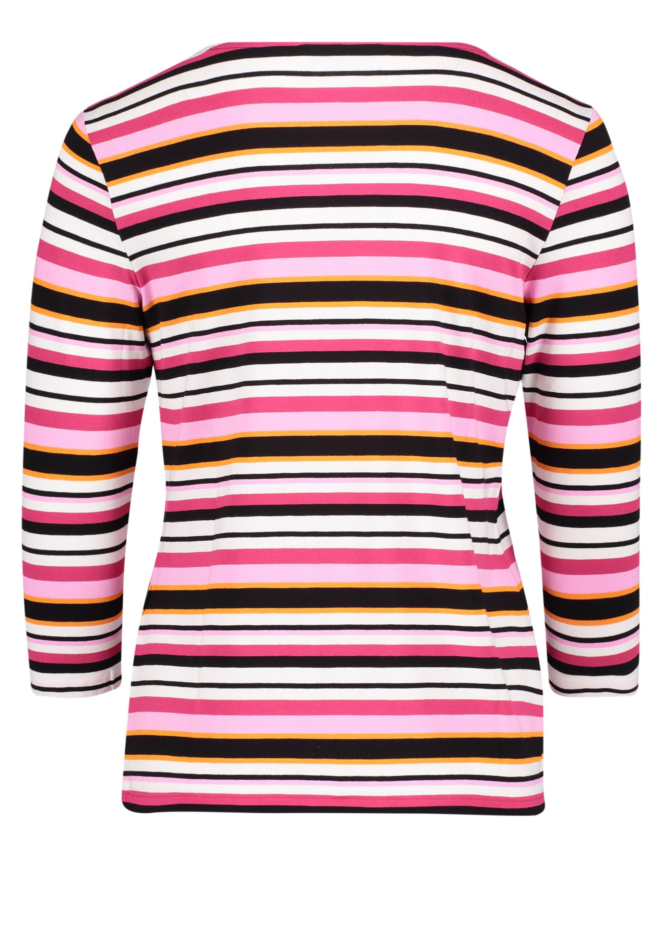 Schwarz Weiß Shirt Barclay In Betty SafranPink Yb67ygvf
