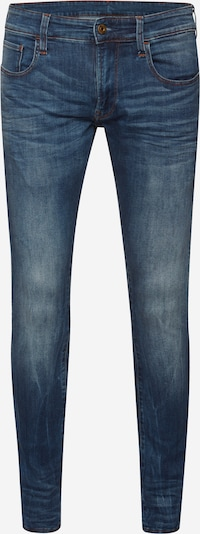 G-Star RAW Jean '3301 Deconstructed Super Slim' en bleu denim, Vue avec produit