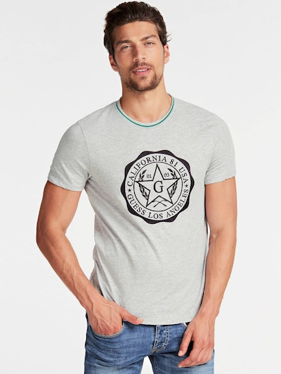 GUESS Shirt in grau: Frontalansicht
