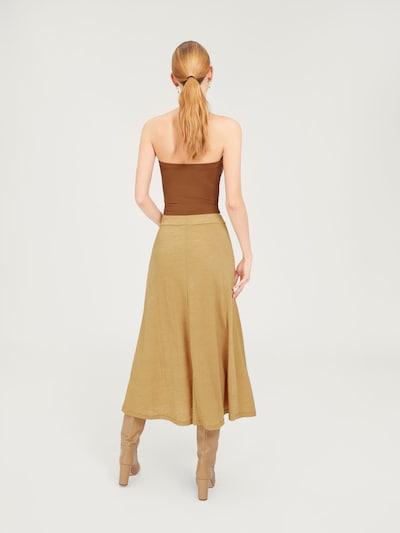EDITED Top 'Bay' w kolorze brązowym: Widok od tyłu