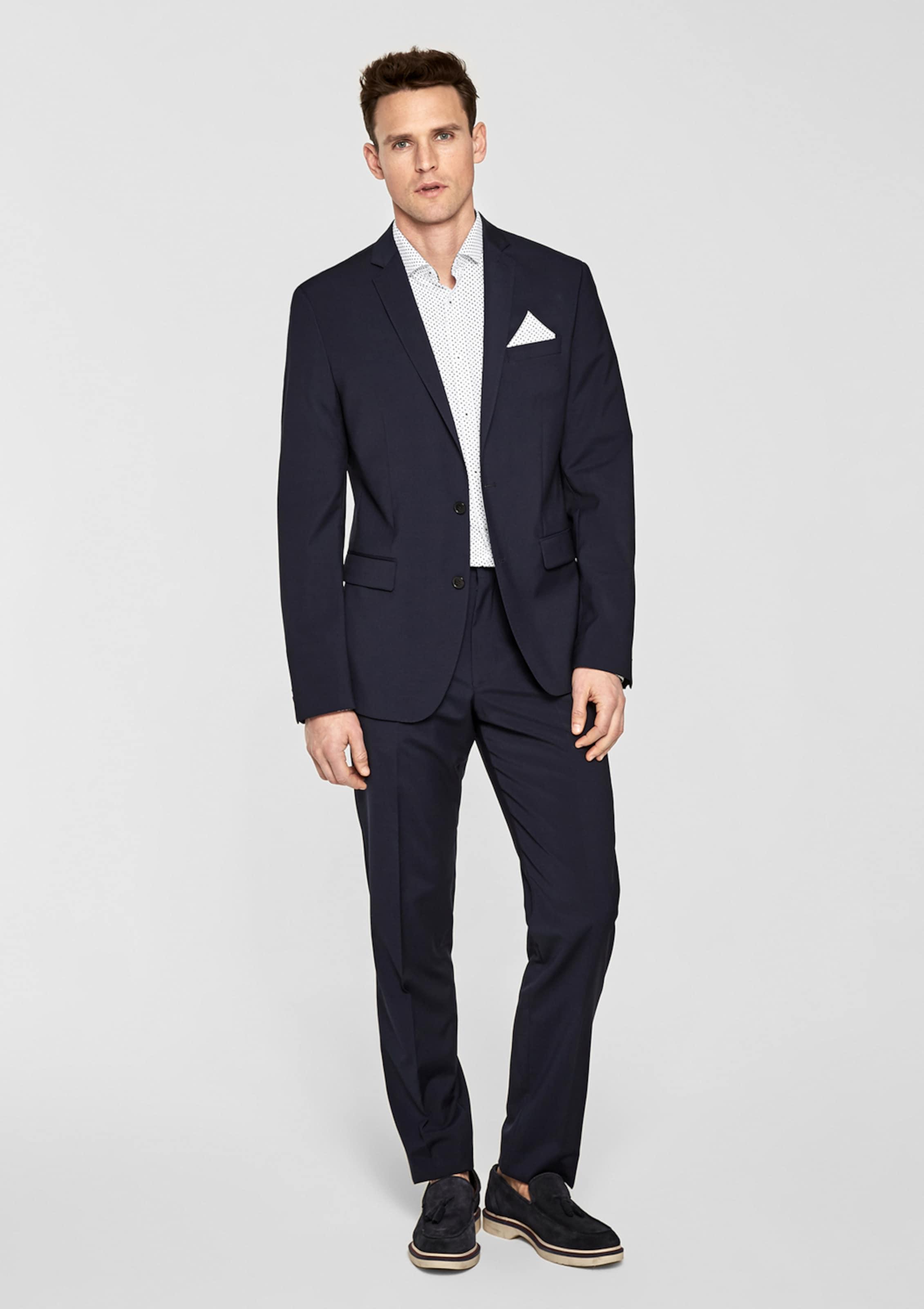 s.Oliver BLACK LABEL Modern Fit: Hemd mit Minimalmuster Billig Verkauf Besuch AaqrMRHTF