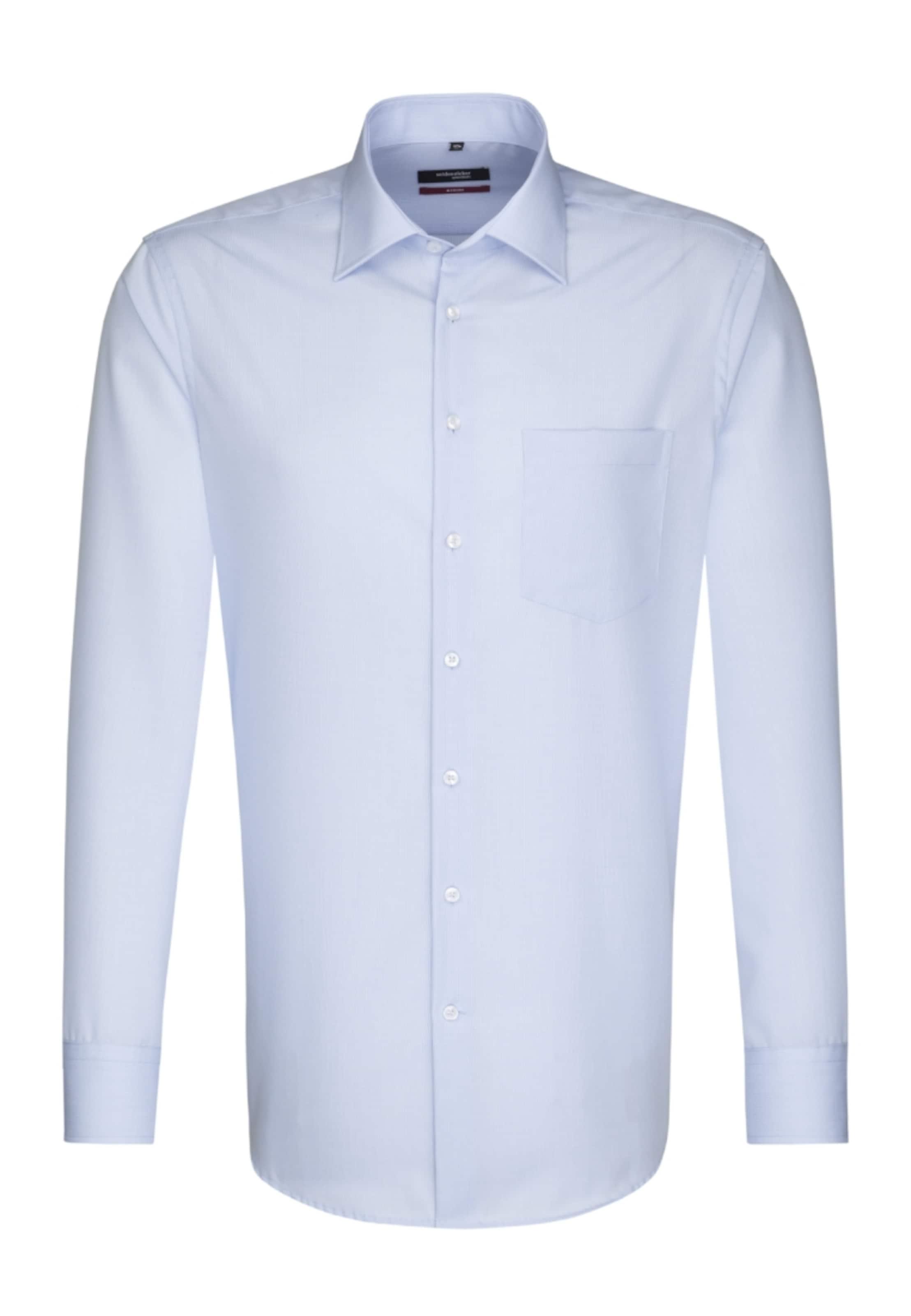Seidensticker City In hemd Hellblau 'modern' xoWdBreC
