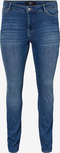 Junarose Normal Waist Skinny Fit Jeans in blau, Produktansicht