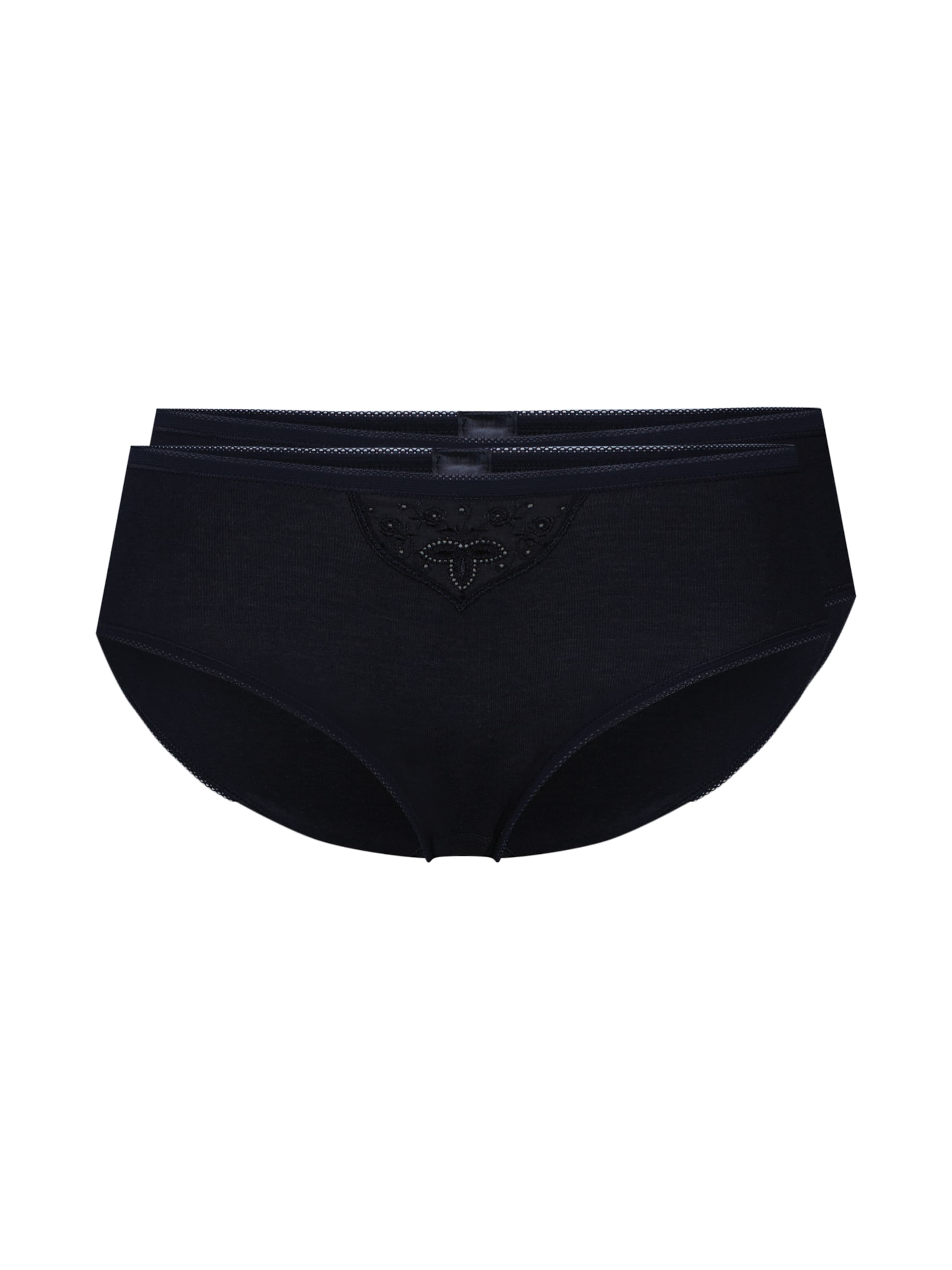 En Culotte 'cotton Essentials' Schiesser Noir QhrdCst