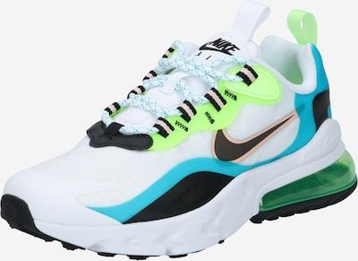 Nike Sportswear Sneaker  'Air Max 270 React' in türkis / grün / schwarz / weiß, Produktansicht