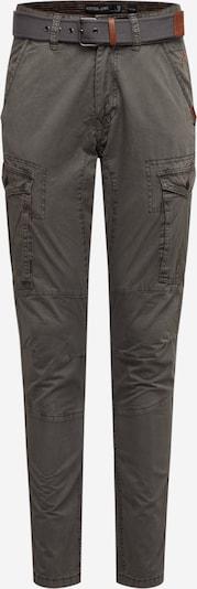 INDICODE JEANS Pantalon cargo 'Guadalajara' en gris, Vue avec produit