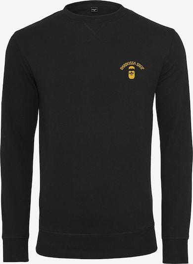 Mister Tee Sweatshirt 'Barbossa' in gelb / schwarz, Produktansicht