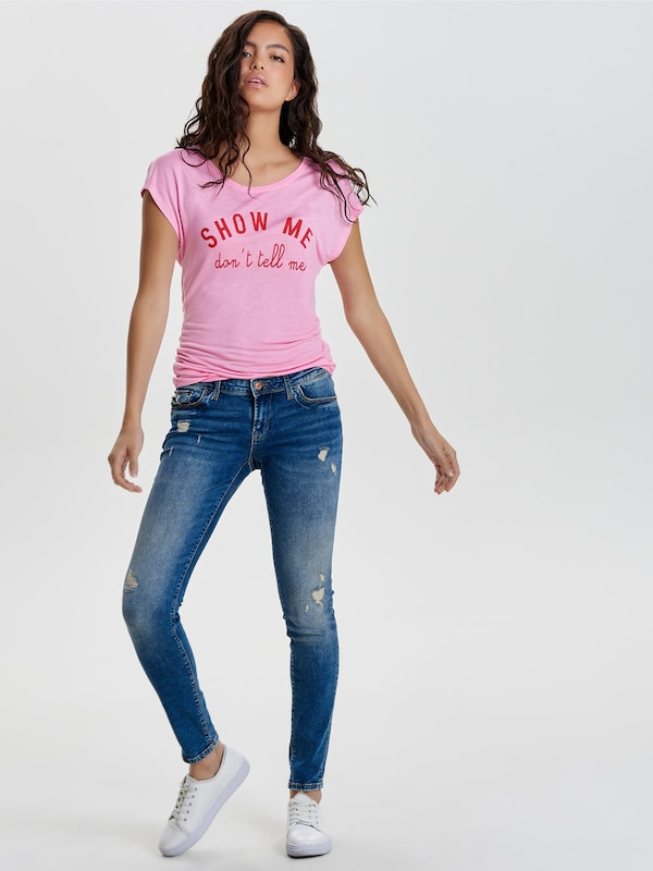 Only Skinny Fit Jeans Sintia Low