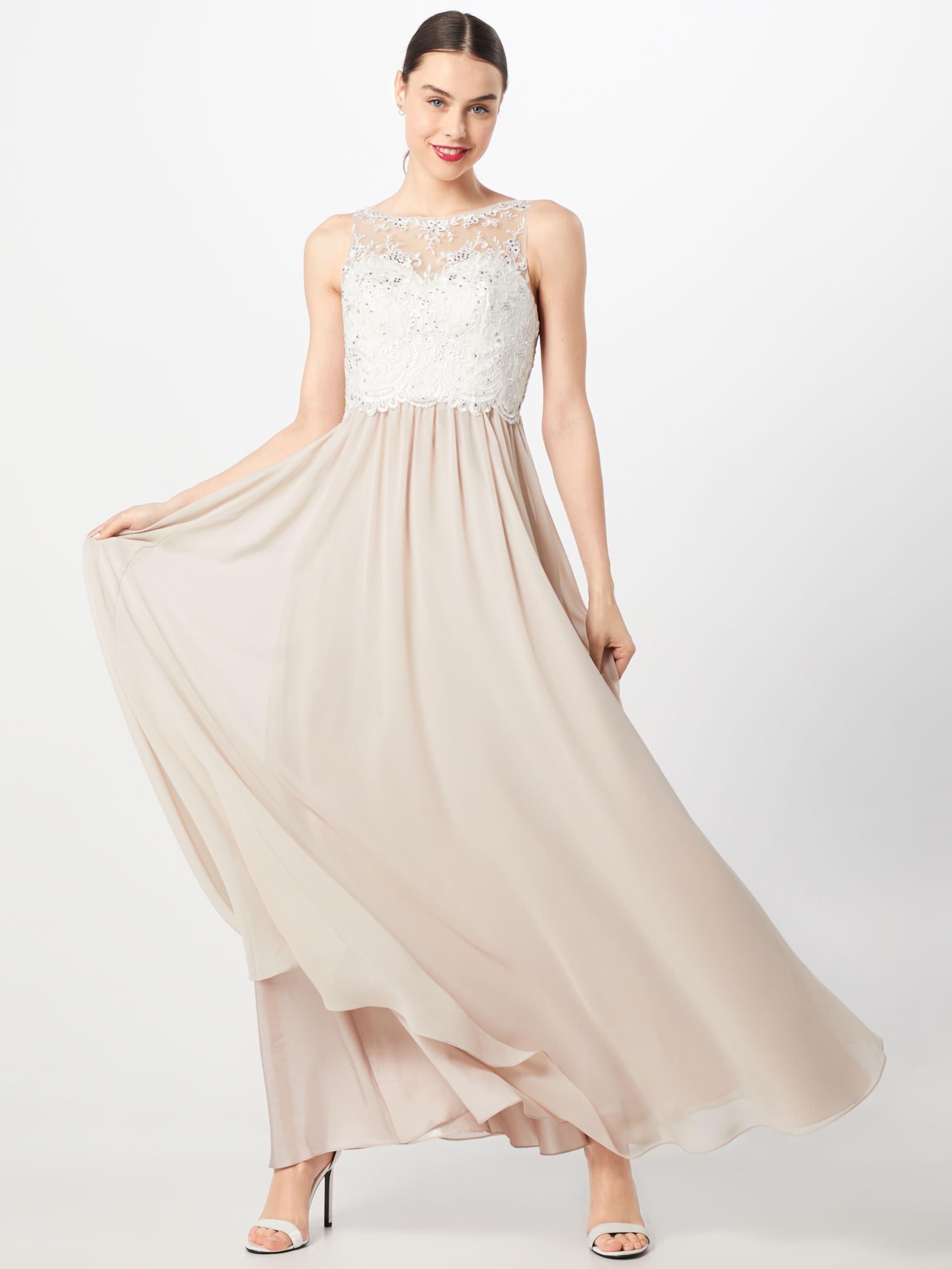 Perle Robe De Laona Soirée En CrèmeBlanc XwTlukZiOP