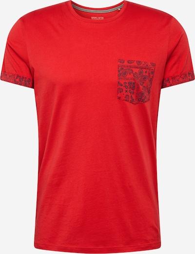 Tricou ESPRIT pe albastru închis / roșu, Vizualizare produs