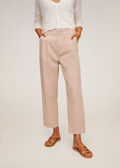 MANGO Hose relax in pink, Modelansicht