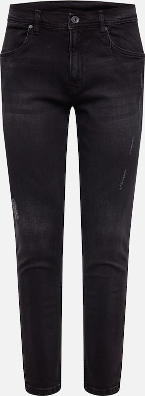 Urban Classics Jeans in black denim, Produktansicht