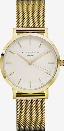 ROSEFIELD Uhr in gold / weiß, Produktansicht