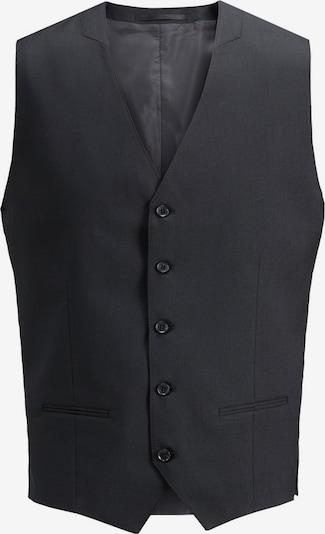 JACK & JONES Klassische Weste in schwarz, Produktansicht