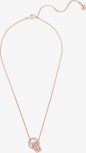 Swarovski Kette 'Further' in rosé / weiß, Produktansicht