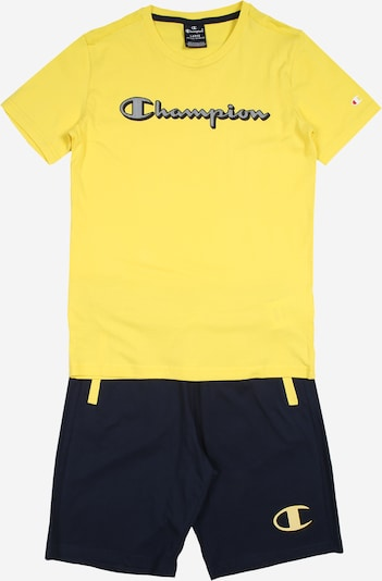 Champion Authentic Athletic Apparel Komplet | rumena barva, Prikaz izdelka