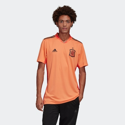 ADIDAS PERFORMANCE Tricot in de kleur Sinaasappel / Zwart: Vooraanzicht