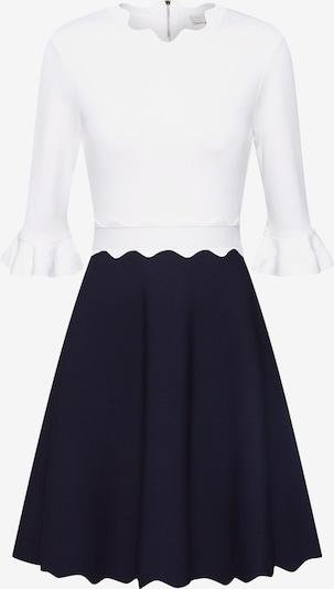 Ted Baker Pletené šaty 'Lauron' - modrá / biela, Produkt