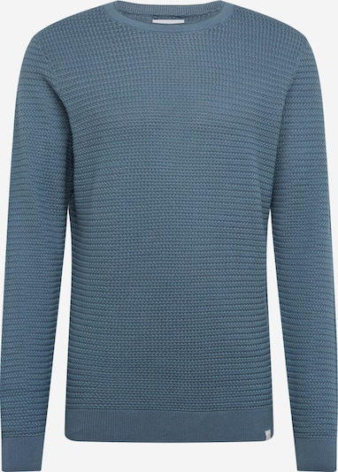 NOWADAYS Trui 'Basket Stitch Sweater' in de kleur Blauw, Productweergave