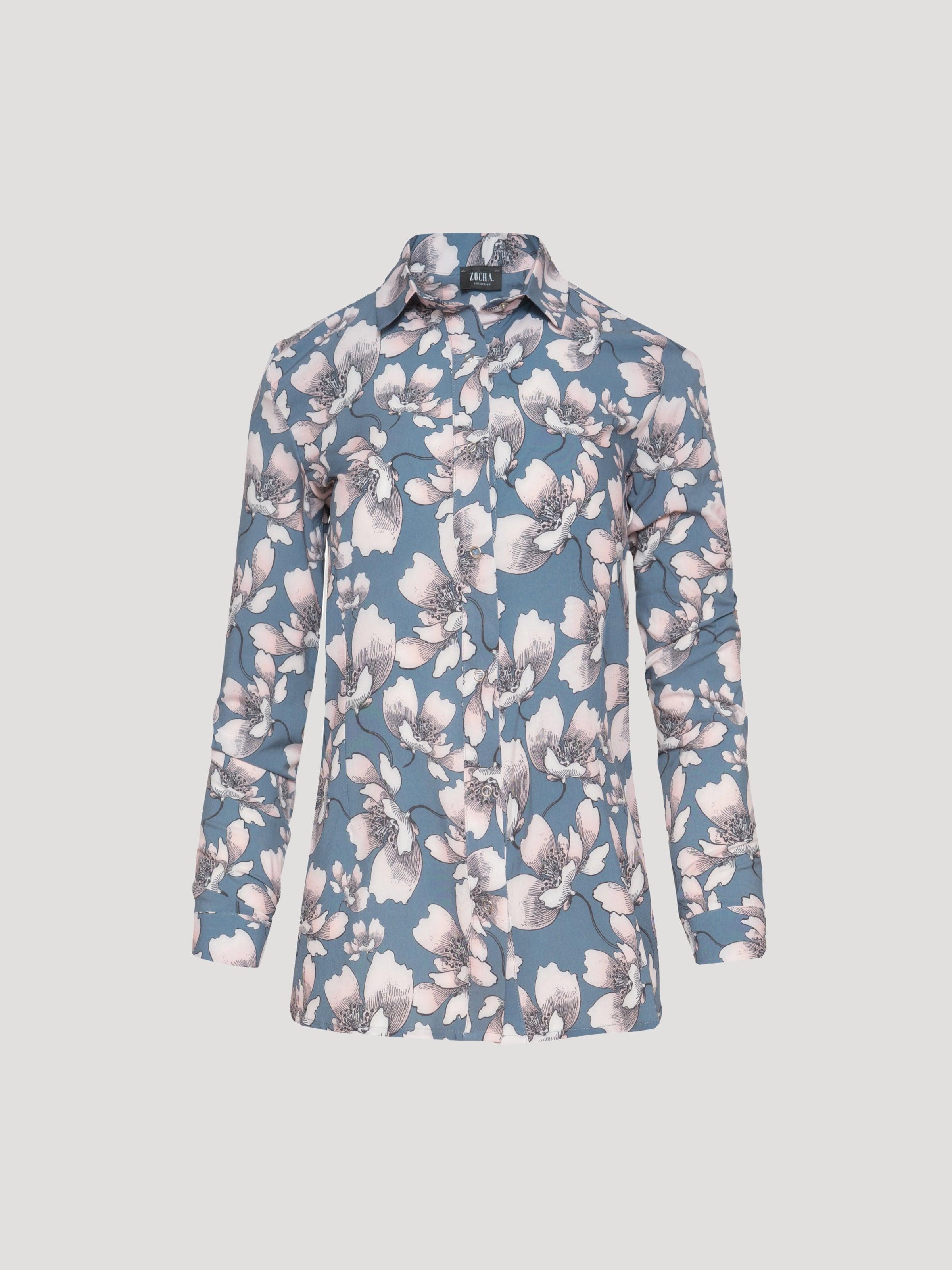 Usha HimmelblauWeiß Usha In In Bluse Bluse In Bluse HimmelblauWeiß HimmelblauWeiß Usha Bluse Usha dtQrhCxs