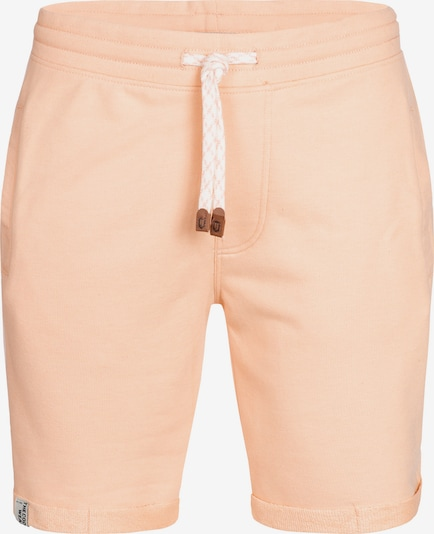 INDICODE JEANS Shorts 'Aldrich' in apricot: Frontalansicht