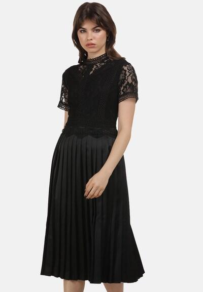 MYMO Kleid 'Rocks' in schwarz, Modelansicht