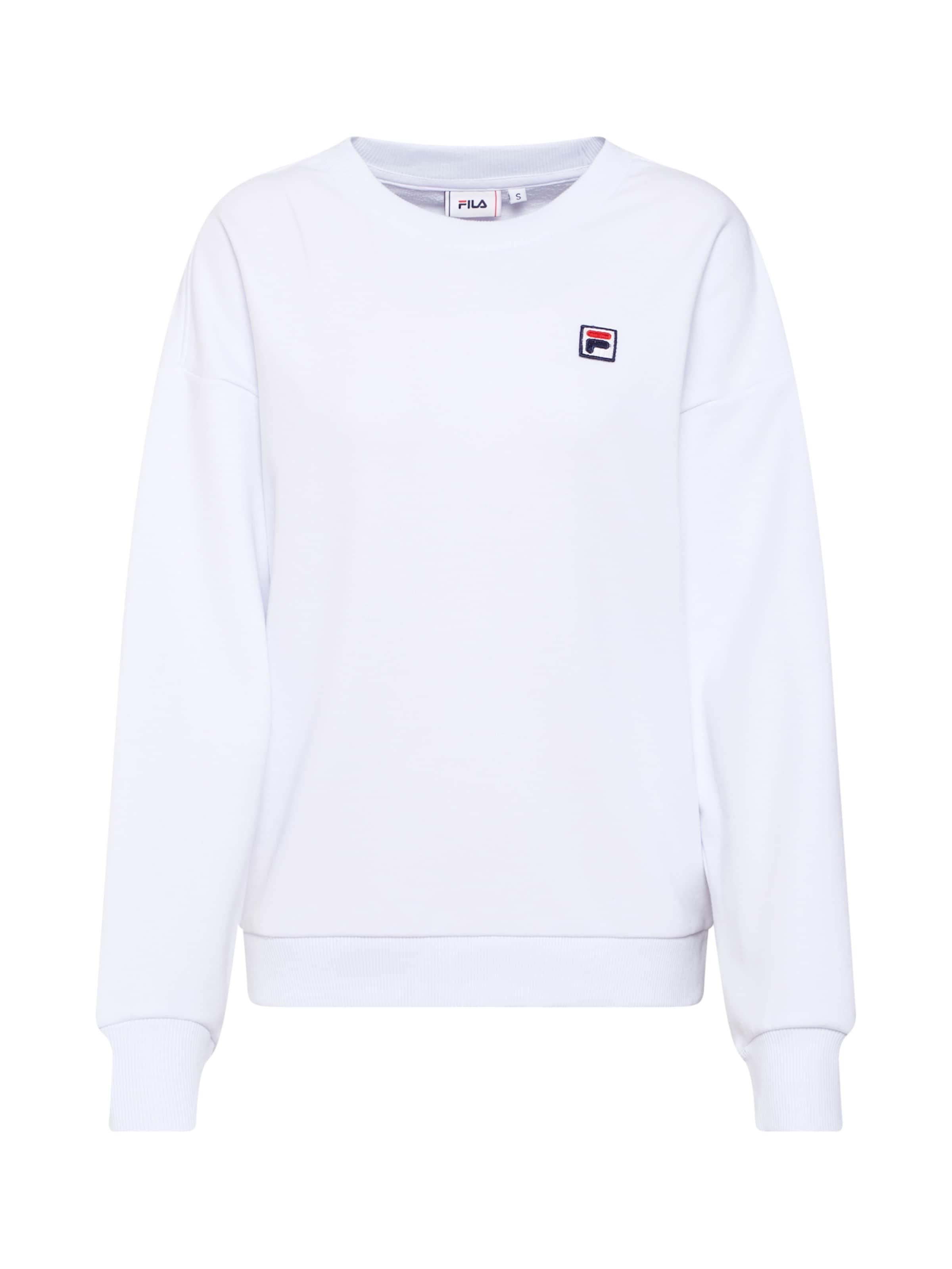 FilaSweat shirt In shirt 'suzanna' FilaSweat Blanc 'suzanna' SMzpqLUVG