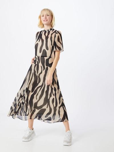 VILA Letní šaty - velbloudí / černá, Model/ka