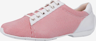 PETER KAISER Sneaker in hellrot / weiß, Produktansicht