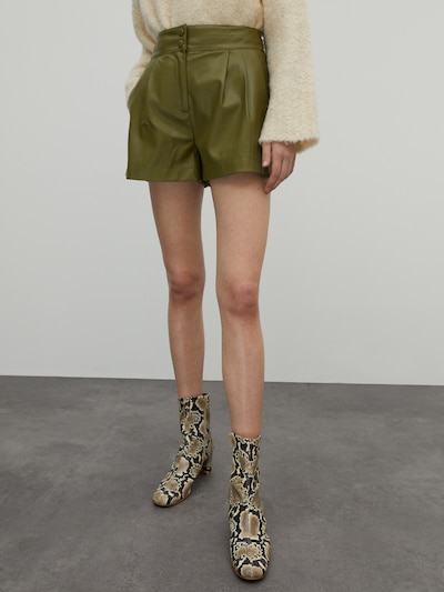 EDITED Shorts 'Lexa' in khaki, Modelansicht