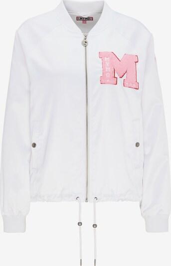 MYMO Jacke in rosa / weiß, Produktansicht