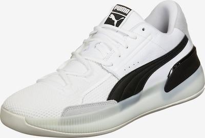 PUMA Schuhe ' Clyde Hardwood ' in grau / schwarz / weiß, Produktansicht
