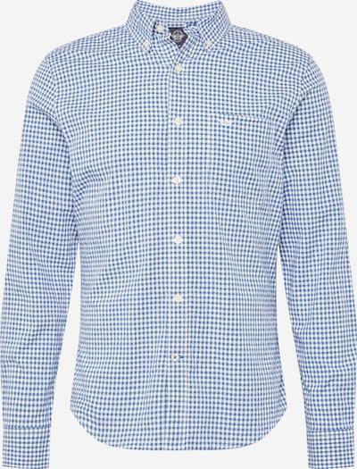 Dockers Skjorta 'ALPHA' i blå / vit, Produktvy