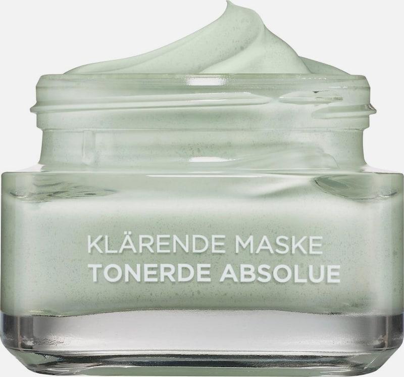 L'Oréal Paris 'Tonerde Absolue Klärende Maske (green)', Gesichtsmaske