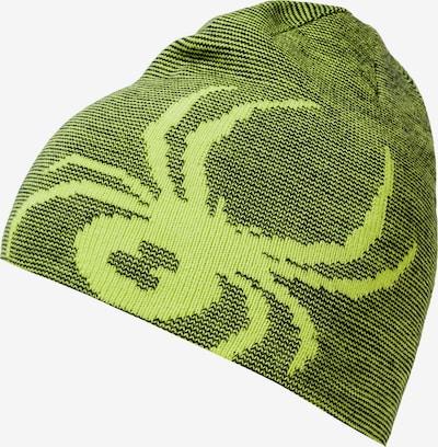 SPYDER Mütze 'BUG' in grün / schwarz, Produktansicht