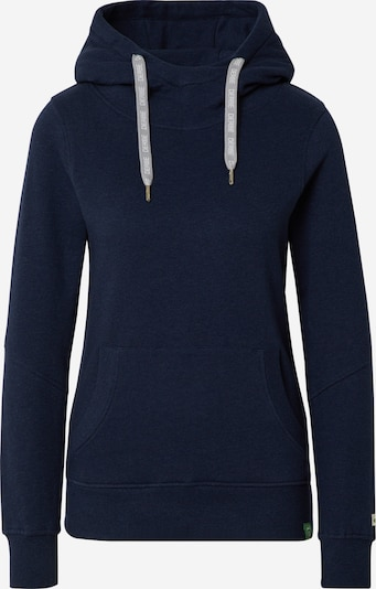 Derbe Sweatshirt 'Lynx Gots' in navy / offwhite, Produktansicht