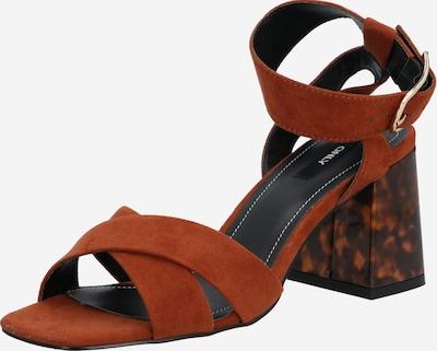 ONLY Sandale 'AMANDA' in karamell, Produktansicht