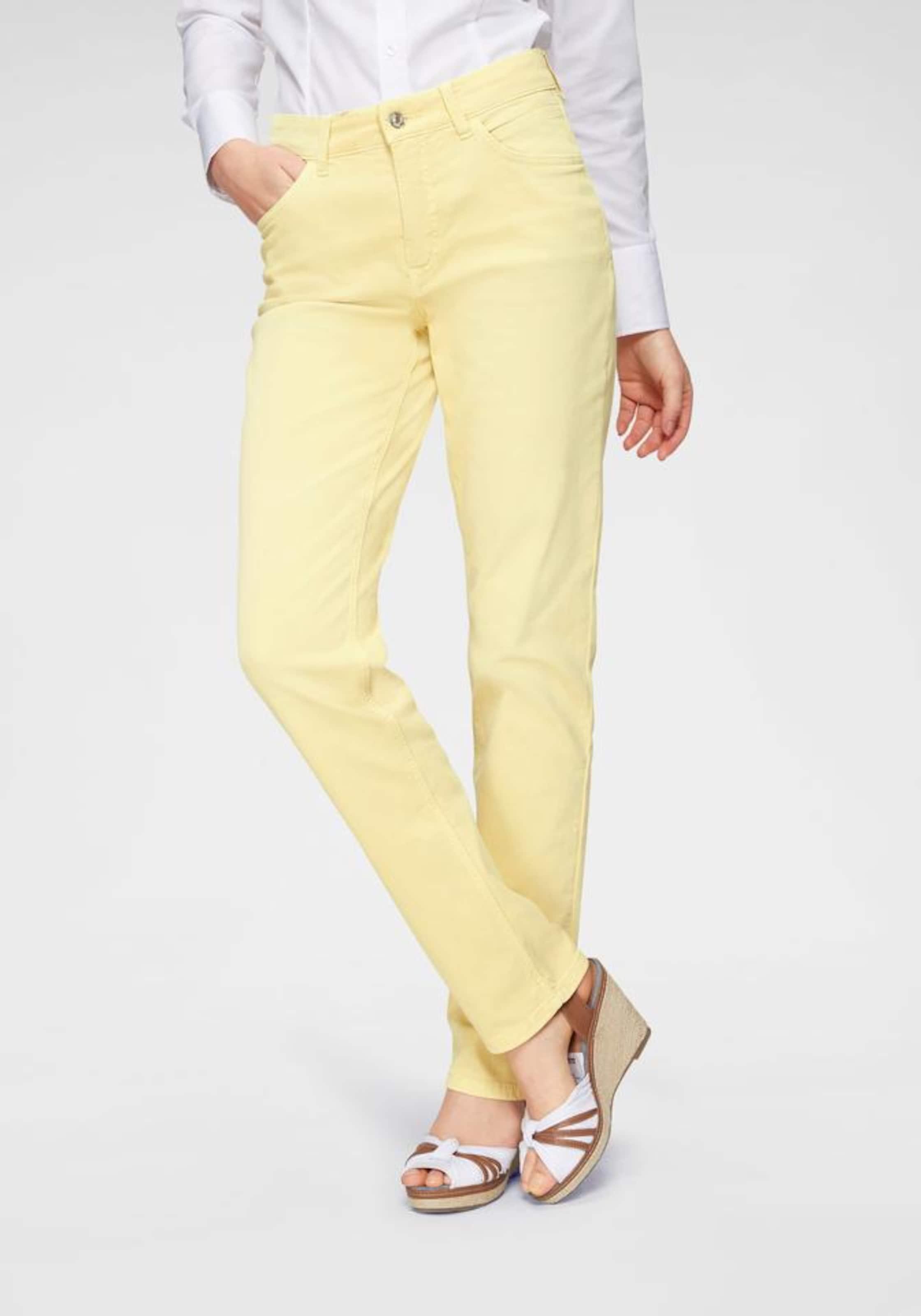 Jeans In Gelb 'angela Mac Summer' wXZTkiPOul