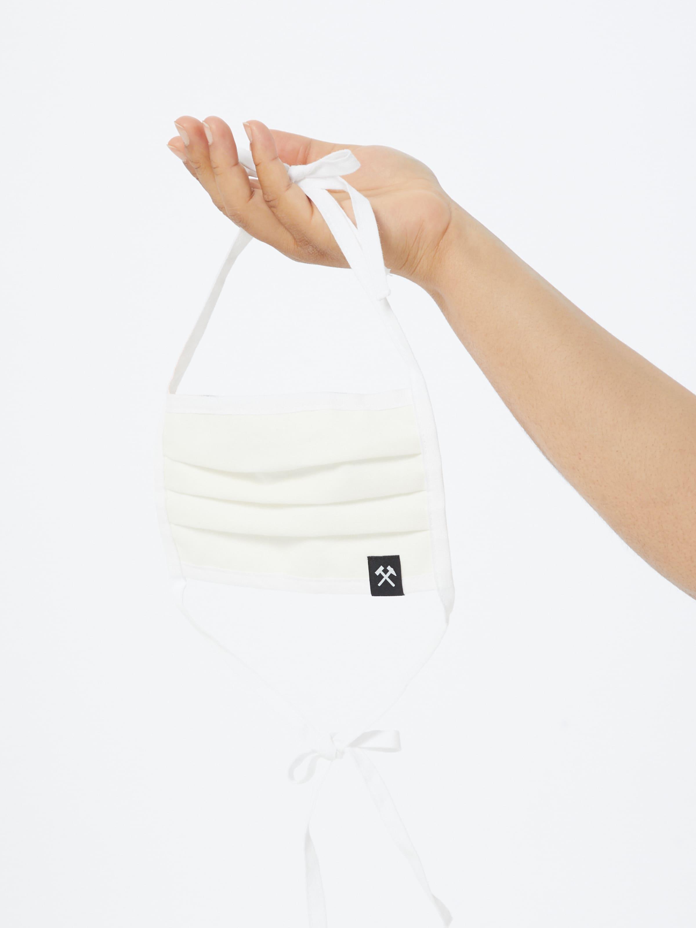 Grubenhelden Szövetmaszk '5er Pack' fehér színben