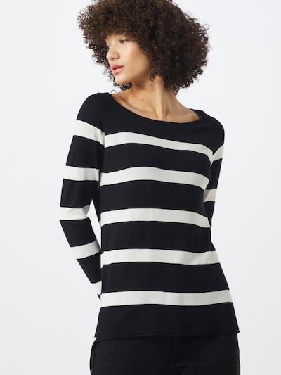 ONLY Pullover 'SELENA' in schwarz / weiß, Modelansicht
