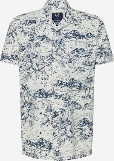 GAP Overhemd 'SS CAMP MALIBU' in de kleur Blauw denim, Productweergave