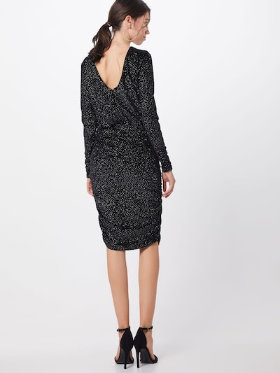 Moves Obleka 'bissi 1304' | črna barva: Pogled od zadnje strani