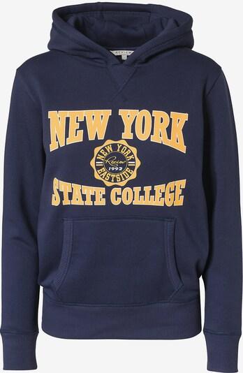 REVIEW FOR TEENS Sweatshirt in navy / gelb / weiß, Produktansicht