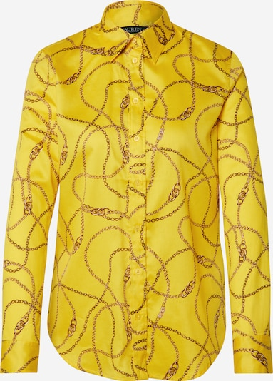 Lauren Ralph Lauren Blūze pieejami dzeltens / melns, Preces skats