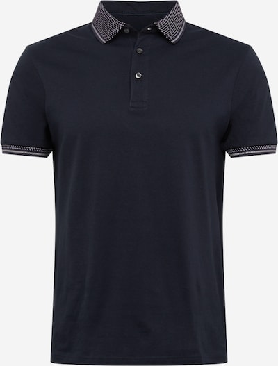 BURTON MENSWEAR LONDON Poloshirt in schwarz / weiß, Produktansicht
