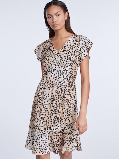 SET Sukienka w kolorze beżowy / jasnobrązowy / czarnym: Widok z przodu