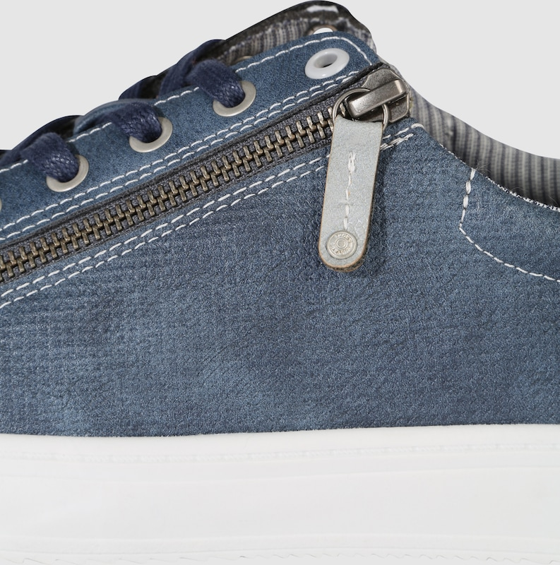Haltbare Mode billige Schuhe MUSTANG | Sneaker mit Zipper Schuhe Gut getragene Schuhe