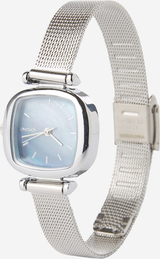 Komono Armbanduhr 'Moneypenny Royale' in hellblau / silber, Produktansicht